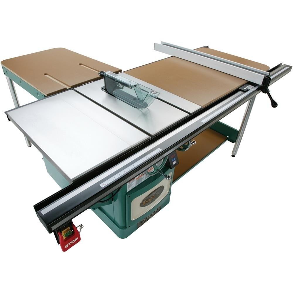 Sierra de mesa industrial tipo escuadradora grizzly 10 for Sierras de mesa