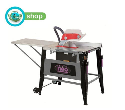 sierra de mesa neo sm812/1 profesional corte en ángulo