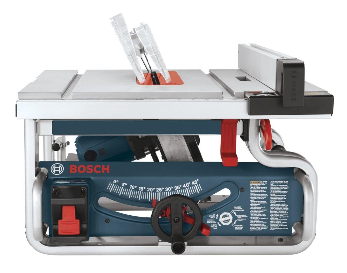 sierra de mesa portable bosch gts1031 10 pulgadas