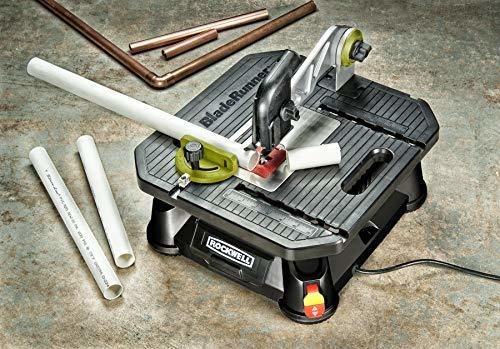sierra de mesa portatil rockwell bladerunner x2 con reborde