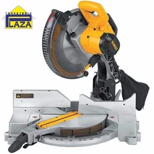 sierra ingletadora biseladora dewalt 1375w 12 dw715 2 discos