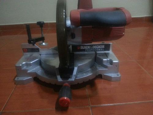 sierra ingletadora black decker 10