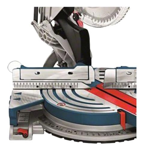 sierra ingletadora bosch gcm 12 x 1800w + disco 305mm 12