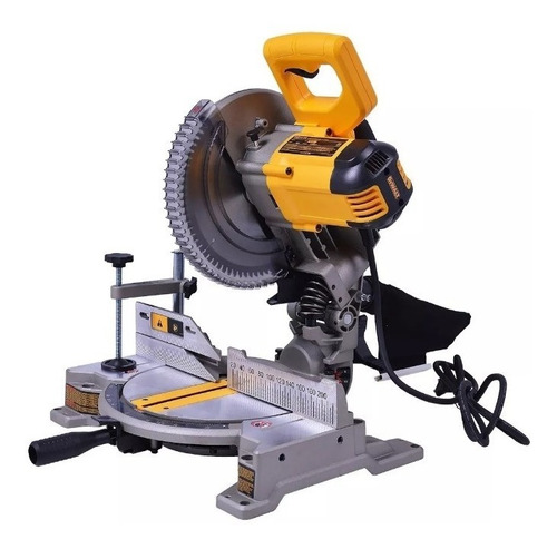 sierra ingletadora dewalt dw714  10 254mm 1650w