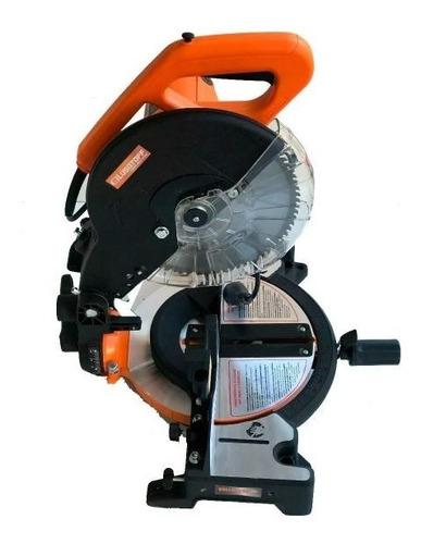 sierra ingletadora lusqtoff 250mm 1650w 255mm 10 pulgadas + envio circular para madera, mdf, aglomerado, melamina