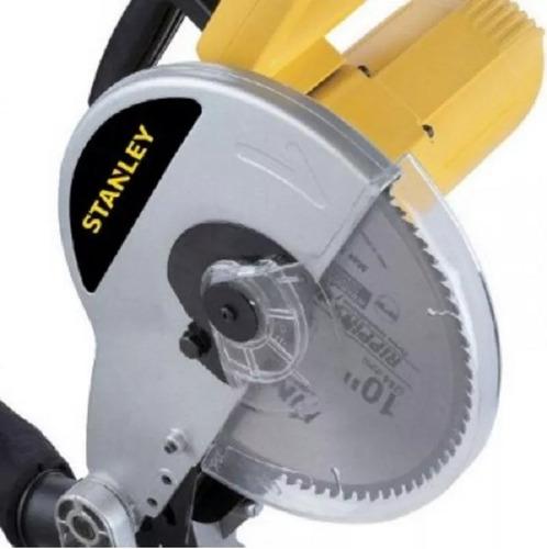 sierra ingletadora stanley 1500w 254mm