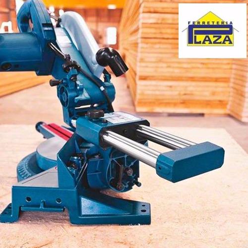 sierra ingletadora telescópica 1800w gcm 10s bosch