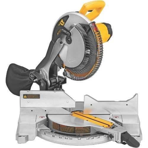 sierra ingleteadora 12 1600w dw715-b2 dewalt