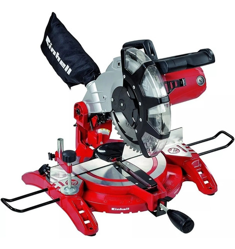 sierra ingleteadora acolilladora 10 1600w einhell tc-ms2513l
