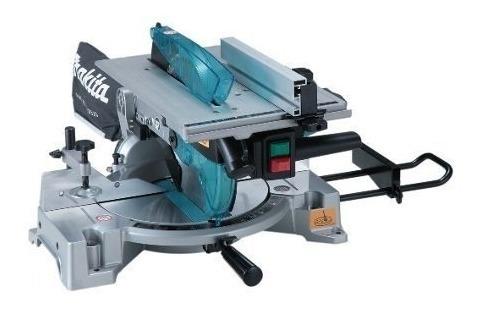 sierra ingleteadora y mesa 260mm 1650w 110v makita lh1040