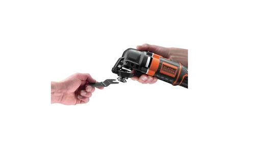 sierra oscilante black + decker 300w mt300k con kit