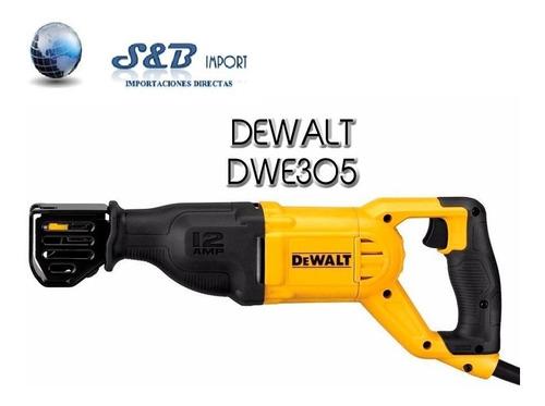 sierra sable dewalt dwe305 (1100w) nuevo modelo