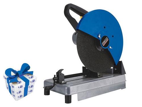 sierra sensitiva 355mm 2000w foreman 13593/fo + regalo !