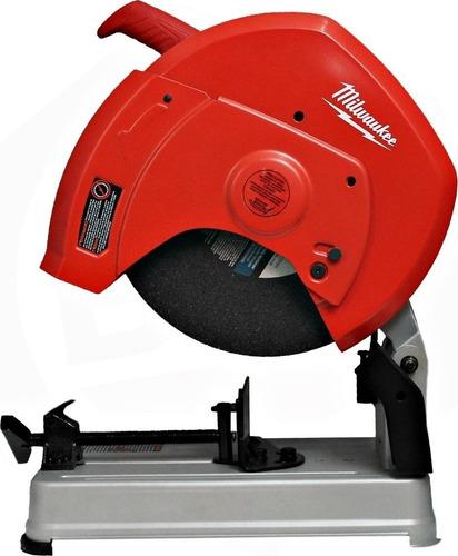 sierra sensitiva corte de metal milwaukee 14 pulgadas 2300w