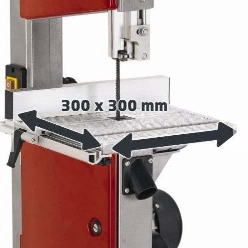 sierra sin fin ingletadora einhell industri te-sb 250 u 420w