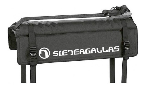 sieteagallas tailagate surf pad (porta tabla para camionetas