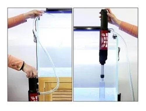 sifão elétrico para limpeza sunsun hxs-01 350l/h 6w aquarios