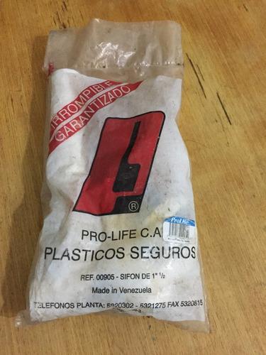 sifon 1 1/2 plastico de buena calidad