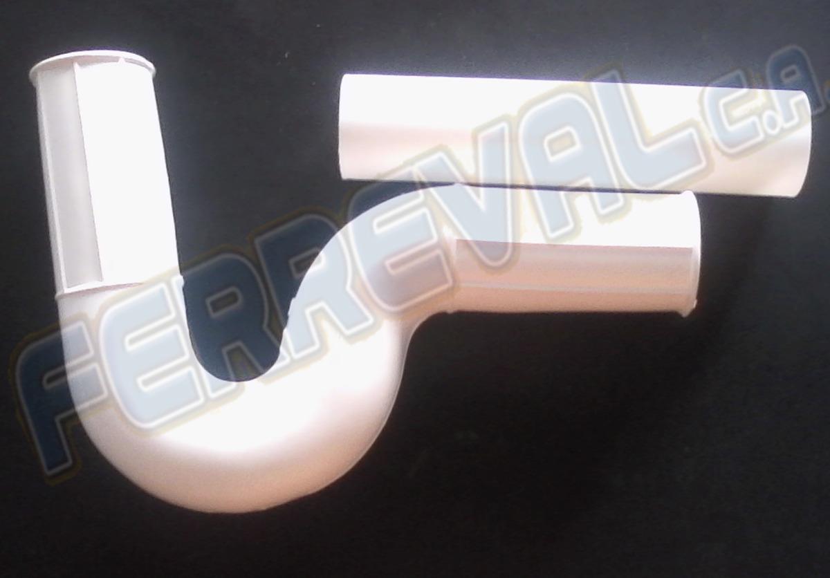 Sifon de goma para fregaderos y lavamanos guanare bs for Precio sifon fregadero