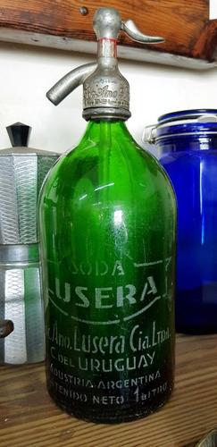 sifon de soda antiguo argentino