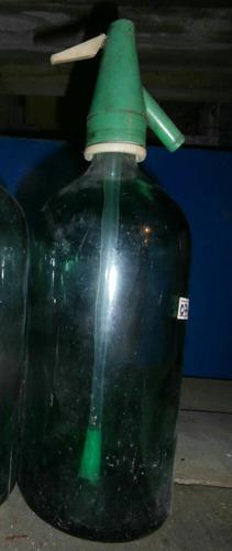 sifón de vidrio