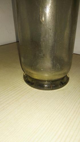 sifon de vidrio tapa de plomo