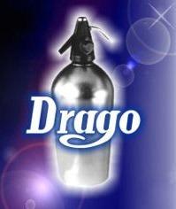 sifon drago automatico clasic + capsula de carga nuevo gtia