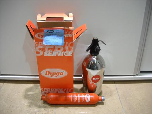 sifon drago cabezal nuevo  1.6 litros c/garrafa garantia esc