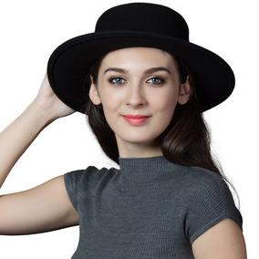 38041ef0eea0 Siggi Sombrero De Fieltro De Lana 100% De Mujer Invierno.