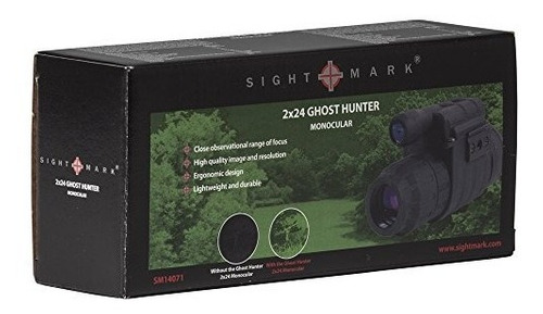 sightmark ghost hunter 2x24 night vision monocular