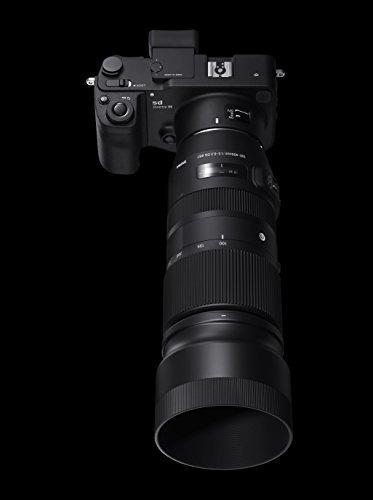 sigma 100-400 mm f / 5-6.3 dg os hsm lente contemporanea par