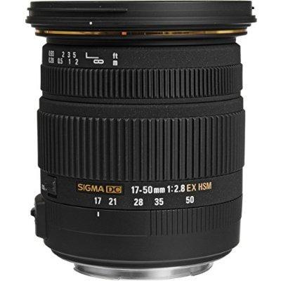 sigma 17-50mm f / 2.8 ex dc os hsm lente de zoom de canon ré