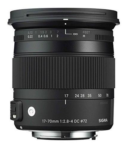 sigma 17-70mm f2.8-4 contemporary dc macro os hsm lens para