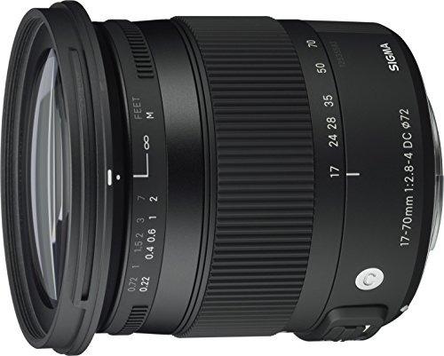 sigma 17-70mm f2.8-4 lente dc hs osm actual de canon para ca