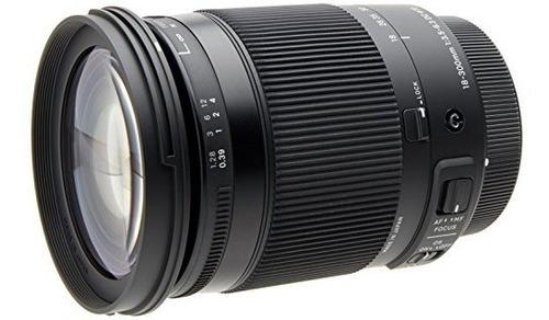 sigma 18-300mm f3.5-6.3 dc dc os macro lente para canon