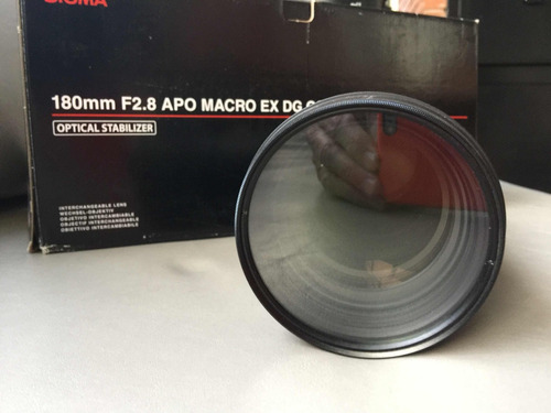 sigma 180mm f2,8 hsm os dg macro 1:1 para nikon