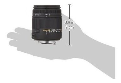 sigma 18250mm f3563 dc macro hsm para camaras reflex digital
