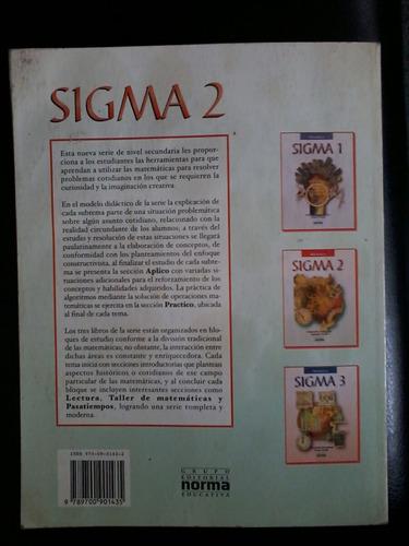 sigma 2 matemáticas norma