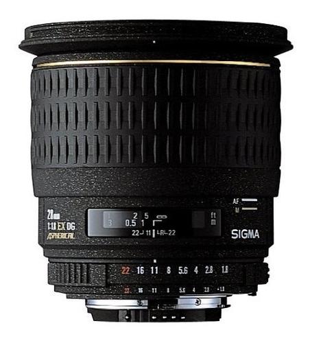 sigma 28mm f / 1.8 ex dg aspherical macro lente gran angula