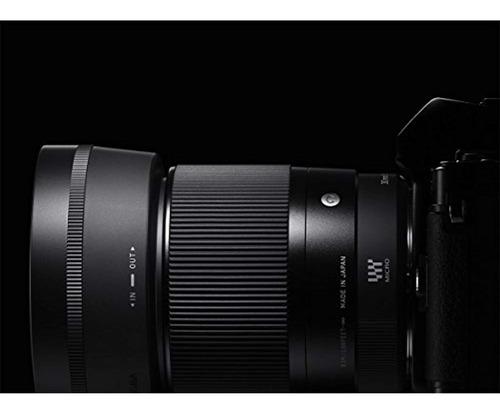 sigma 30mm f1.4 lente dc dn contemporánea para sony e