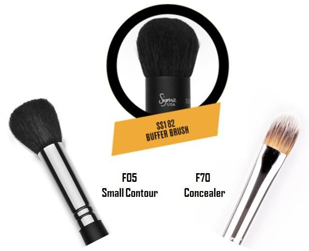 025ba112f Sigma Beauty | Face Brushes Combo - $ 1,599.00 en Mercado Libre