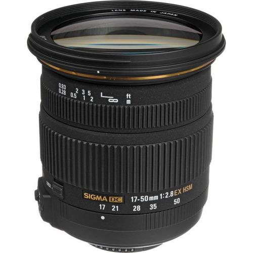 sigma lente 17-50mm f/2.8 ex dc os hsm p/sony a