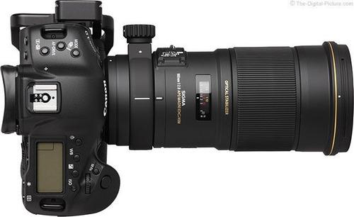 sigma lente 180mm f2.8 apo macro ex dg os hsm p/canon (msi)