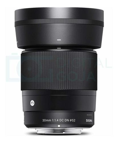 sigma lente de 30mm f1.4 contemporáneo dc dn para cámara