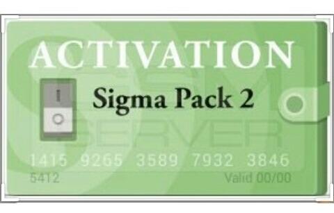 sigmaskey pack 1,2 actividades original