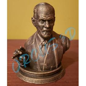 Sigmun Freud - Impresión 3d - Psicoanalista - Filósofo