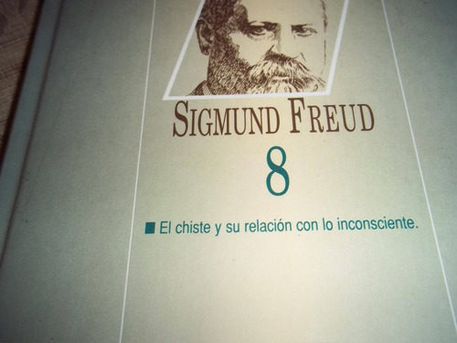 sigmund freud - obras completas nro. 8 - edit. losada