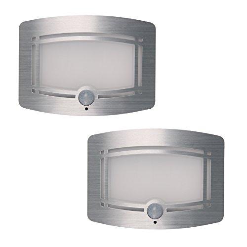 signstek 10 led inalámbrico accionador de luz de movimiento