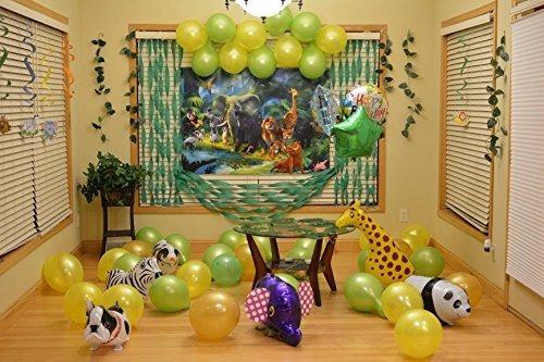 signstek 6pcs globos de animales que caminan decoración de