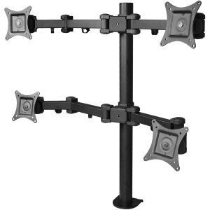 siig articulación de quad monitor de escritorio de montaje